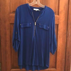Blue Calvin Klein shirt size L